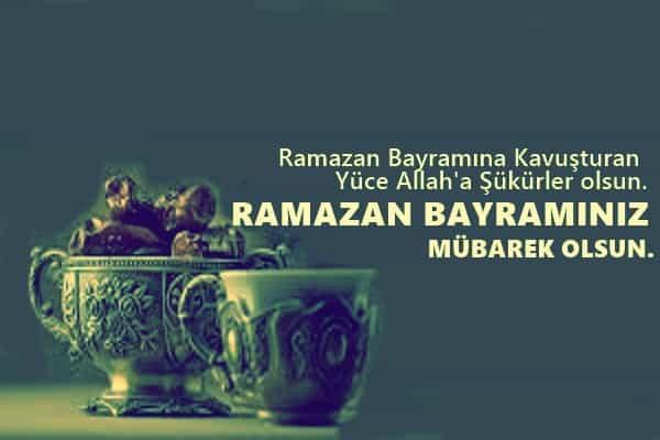 Resimli Ramazan Bayramı Kutlama Mesajları