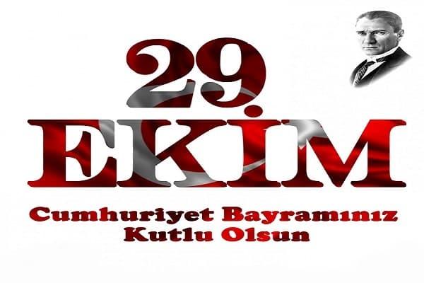 Resimli Cumhuriyet Bayramı Mesajları