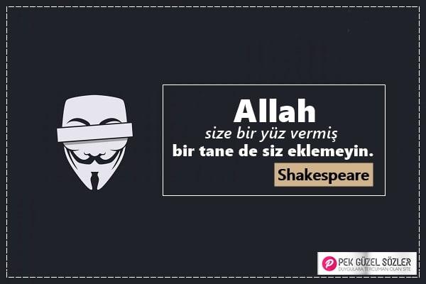William Shakespeare Sözleri