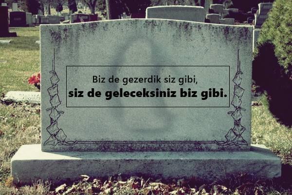 Mezar Taşı Sözleri