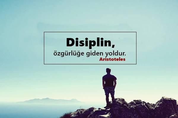 Disiplin İle İlgili Sözler