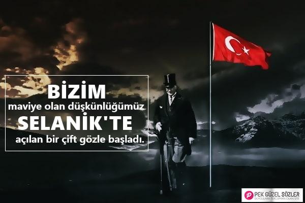 Atatürk'e Özlem Sözleri
