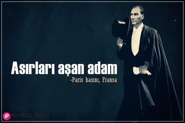 Atatürk İle İlgili Güzel Sözler