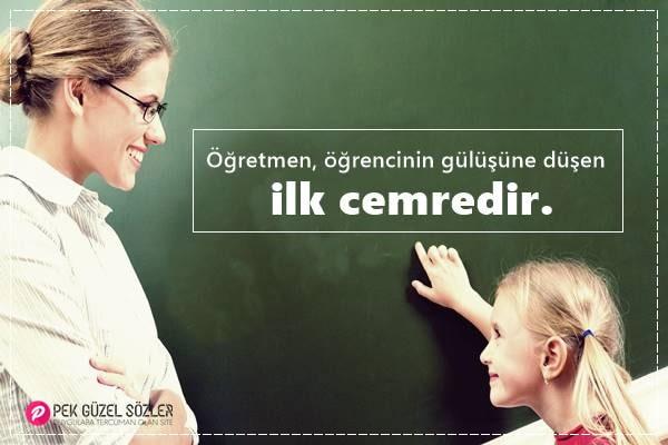 Unutulmaz Öğretmen Sözleri