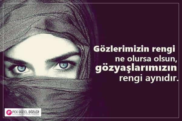 Gözlerle İlgili Güzel Sözler