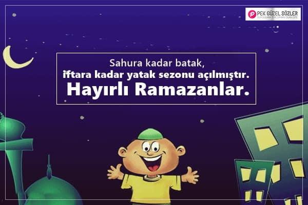 Komik Ramazan Sözleri
