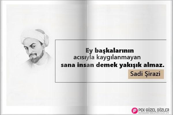Sadi Şirazi Sözleri