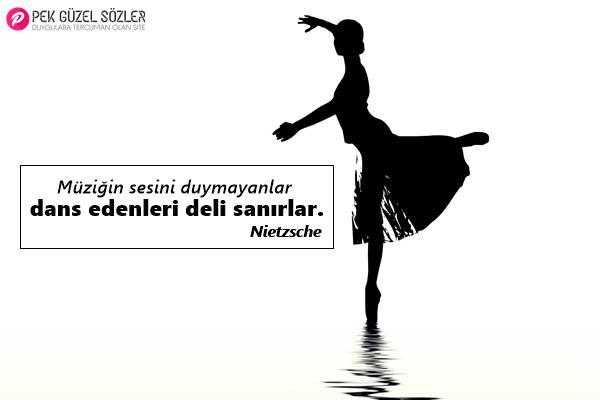 Dans İle İlgili Sözler